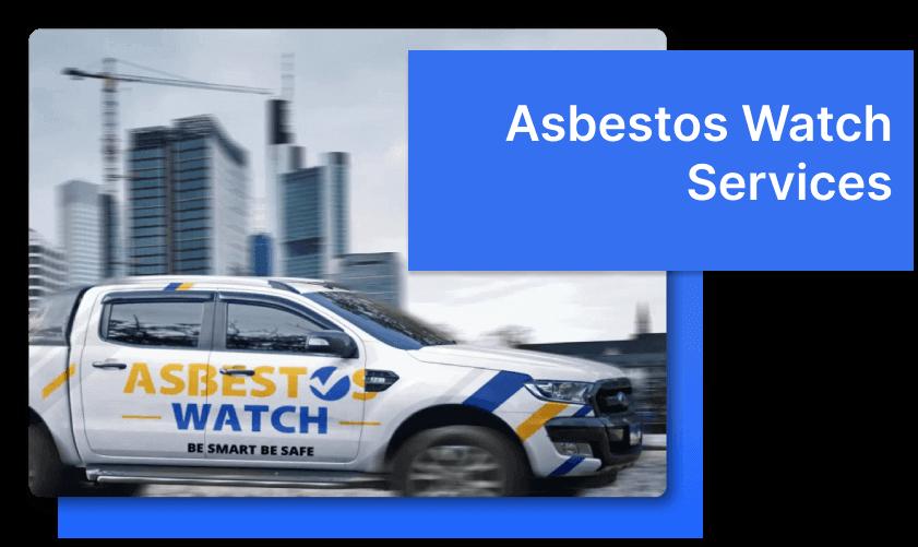 Asbestos Watch Sydney truck